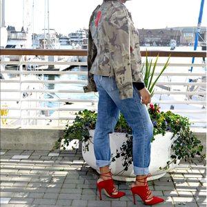 Topshop Gillian Suede Lace-Up Pump